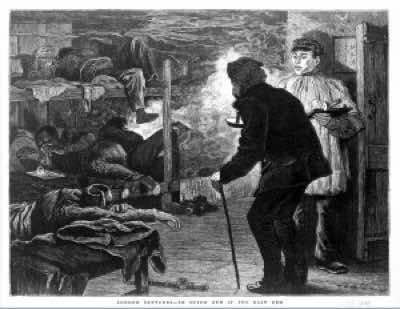 From a London newspaper, this powerful image describes the scene of an opium den in China, an important contrast to the description of European opium dens. This etching was created in the decade following on from the Second Opium War and is a classic piece of revistionist history