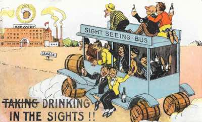 Whilst the prohibitionist movements, such as the Anti Saloon Legue, gathered momentum, the backlash from those wishing to maintain the status quo also grew. Prohibitionism was often ridiculed in cartoons, depicted as a pointless exercise, or proponenets of prohibition caracatured as snooty and meddling.
